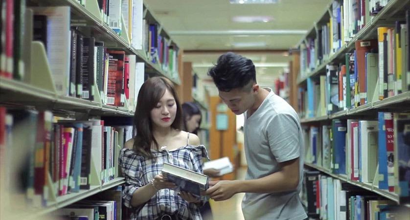 Thư viện trường Đại học Nghĩa Thủ