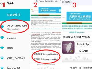 Truy cập Wifi Miễn phí tại sân bay